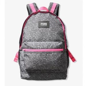 Victoria's Secret PINK Campus Backpack Grey